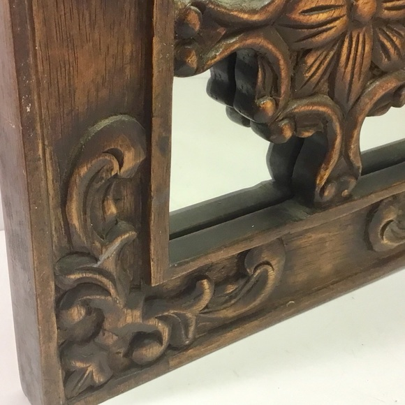 Other - Wood Wall Mirror